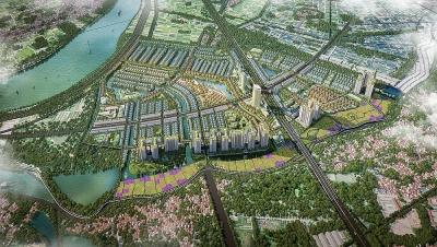 Phê duyệt điều chỉnh quy hoạch 1/500 dự án Khu đô thị sinh thái Văn Giang