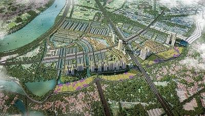 Công bố điều chỉnh quy hoạch 1/500 khu đô thị sinh thái Văn Giang