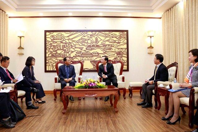 Minister Pham Hong Ha received Korean Ambassador in Vietnam