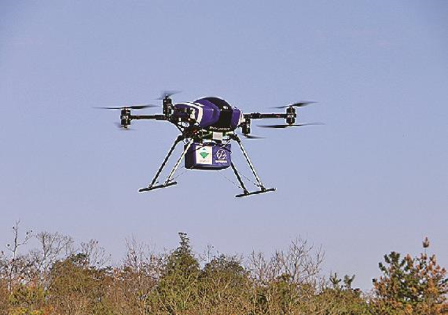 Japanese develops heavy duty drone for construction site