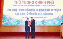 Quang Ninh: Adjusting general planning of Van Don Economic Zone till 2040
