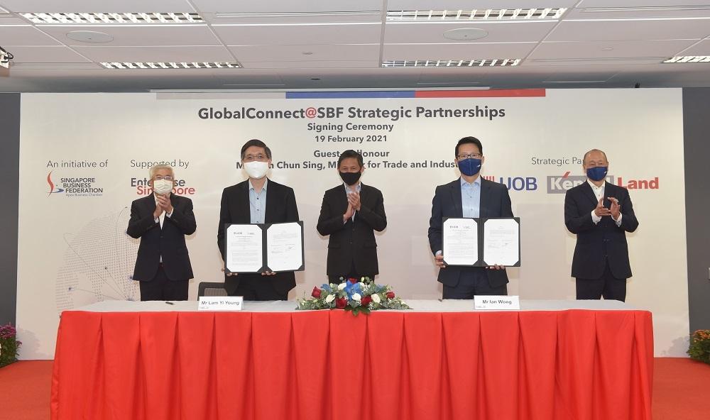 Ngân hàng UOB và Liên đoàn Doanh nghiệp Singapore: Kết nối cơ hội kinh doanh giúp nhiều công ty