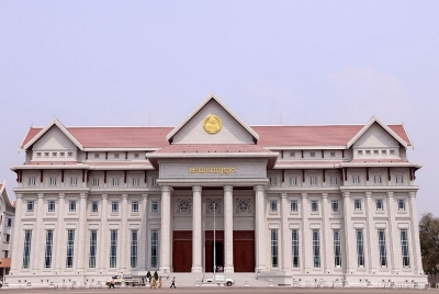 Vietnam hands over New National Assembly building to Laos