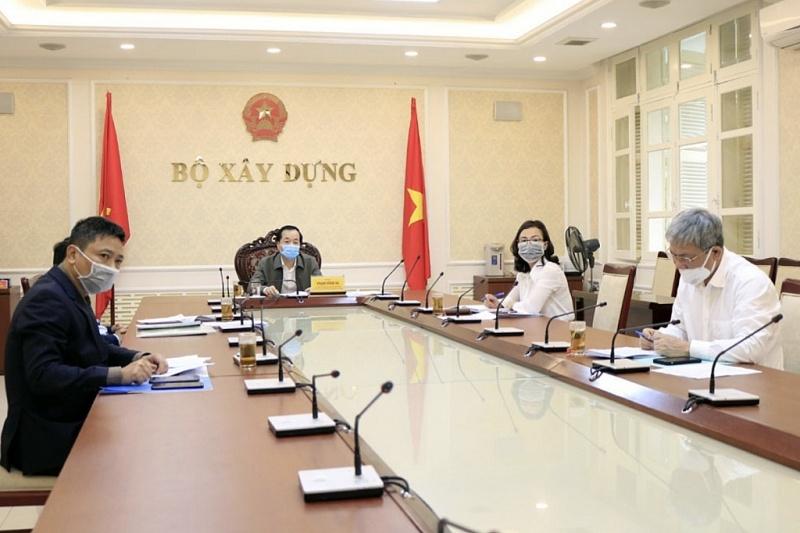 Minister Pham Hong Ha attended Government's regular meeting online