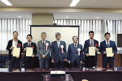Japanese Infrastructure Ministry honors construction workers from Vietnam and Myanmar