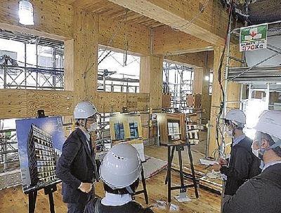 Japan's first fully wooden fire-proof high rise constructed in Yokohama