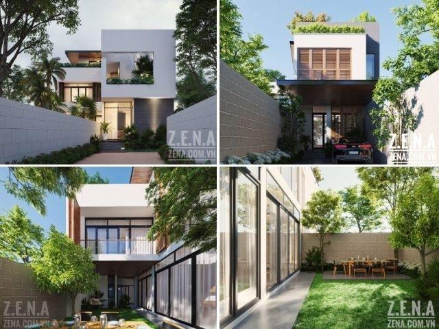 Lưu ý cần nhớ khi thiết kế nhà vườn, sân vườn