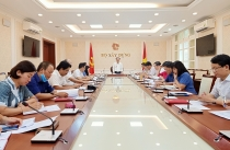 Meeting of Party Executive Committee within Ministry of Construction term 2020 - 2025