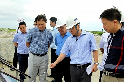 Completion acceptance of package 10, Component A - Hai Phong International Gateway Port Project