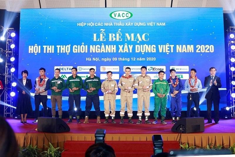 Award of Vietnam Construction Excellent Contest 2020