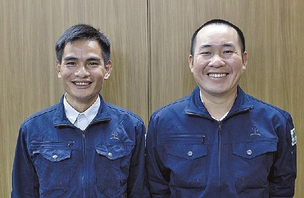 Vietnamese technical interns continue training