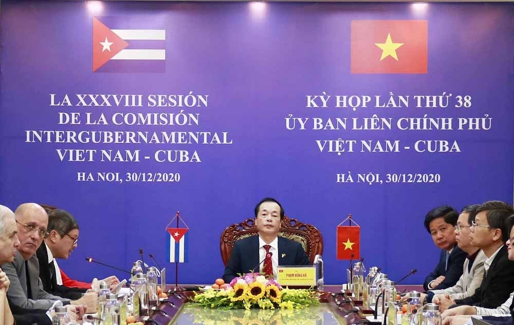 Vietnam continues to be Cuba's second largest trading partner in Asia
