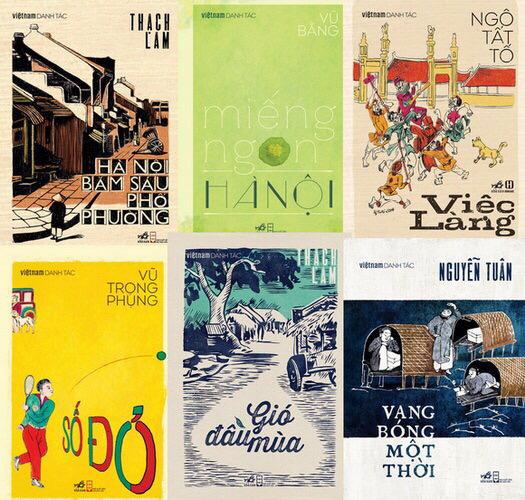 Nhã Nam ra mắt bốn tác phẩm tiếp theo trong bộ sách Việt Nam danh tác