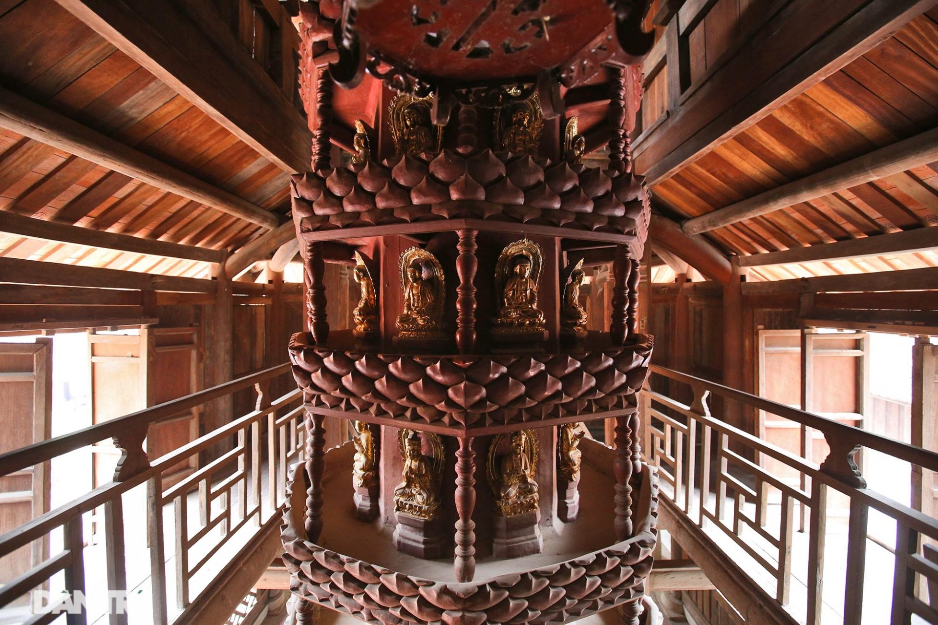 Chiêm ngưỡng bảo vật quốc gia mới: kiệt tác Cửu phẩm liên hoa chùa Bút Tháp