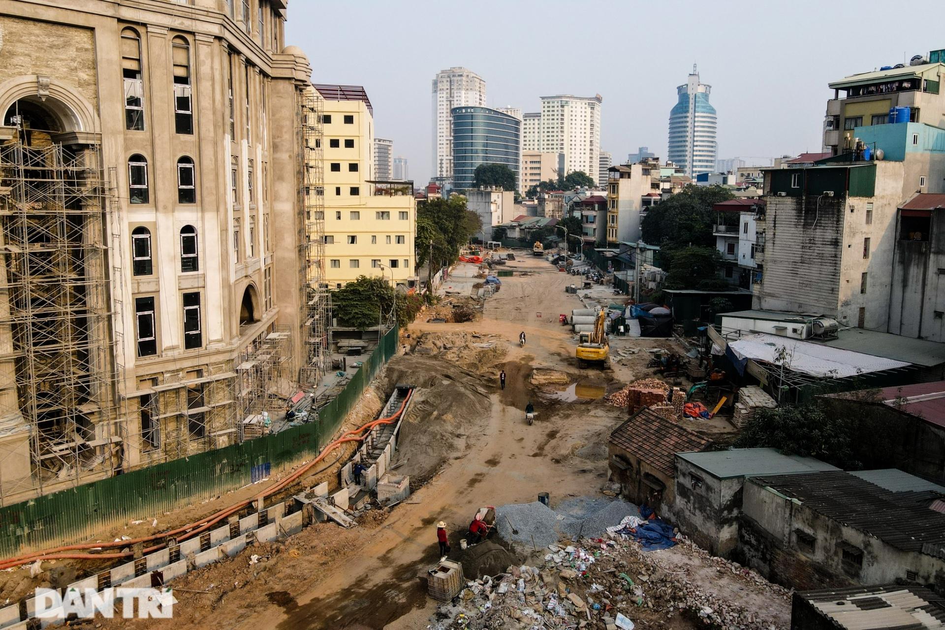 Dự án 350 tỷ đường Huỳnh Thúc Kháng kéo dài chậm 20 năm do bị bịt kín 2 đầu