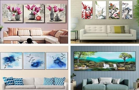 Bí kíp chọn tranh treo tường đẹp và phù hợp với ngôi nhà của bạn