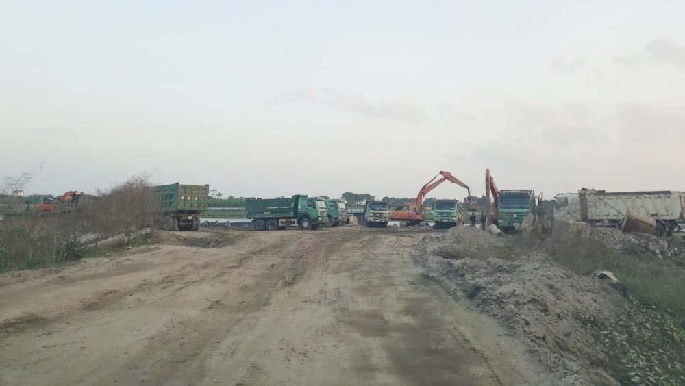 Bắc Giang: 25 bãi tập kết cát sỏi ven sông hoạt động trái phép