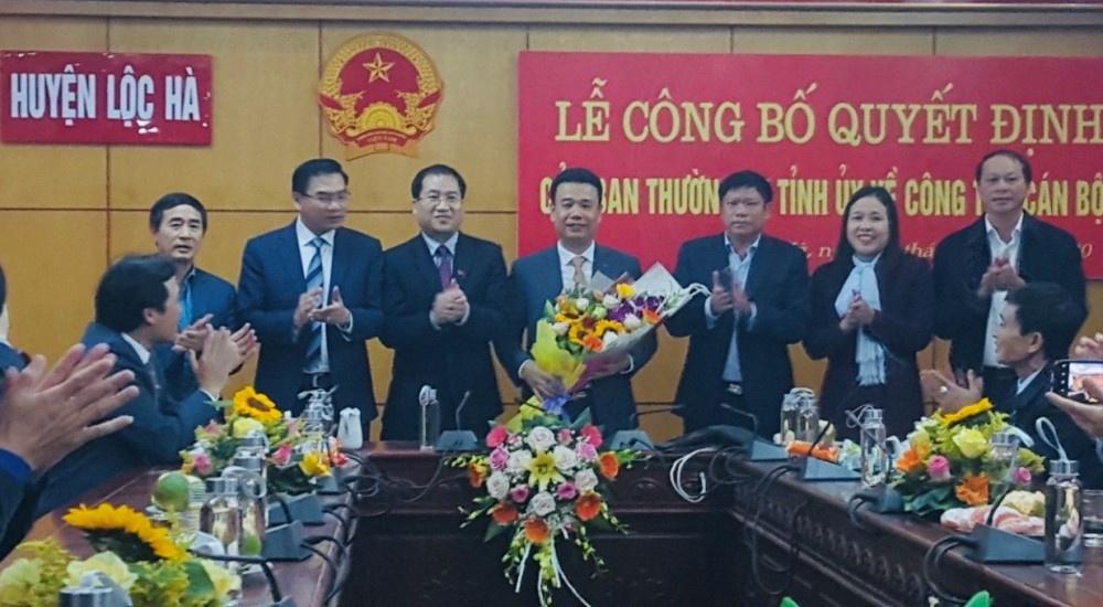 Hà Tĩnh: Phó Giám đốc Sở Xây dựng được bổ nhiệm làm Phó Bí thư Huyện ủy Lộc Hà