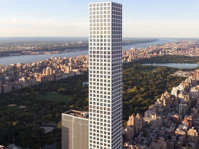 Căn penthouse 82 triệu USD ở tòa chung cư cao nhất New York