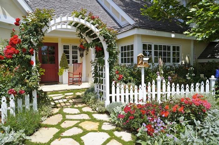 Những lưu ý khi trồng cây trước nhà