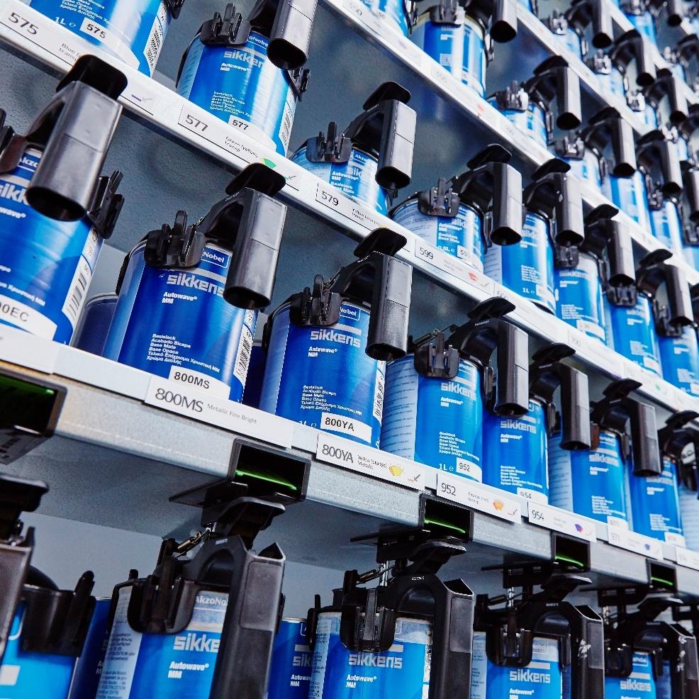 AkzoNobel hợp tác với những thương hiệu hàng đầu trong ngành Công nghiệp ôtô