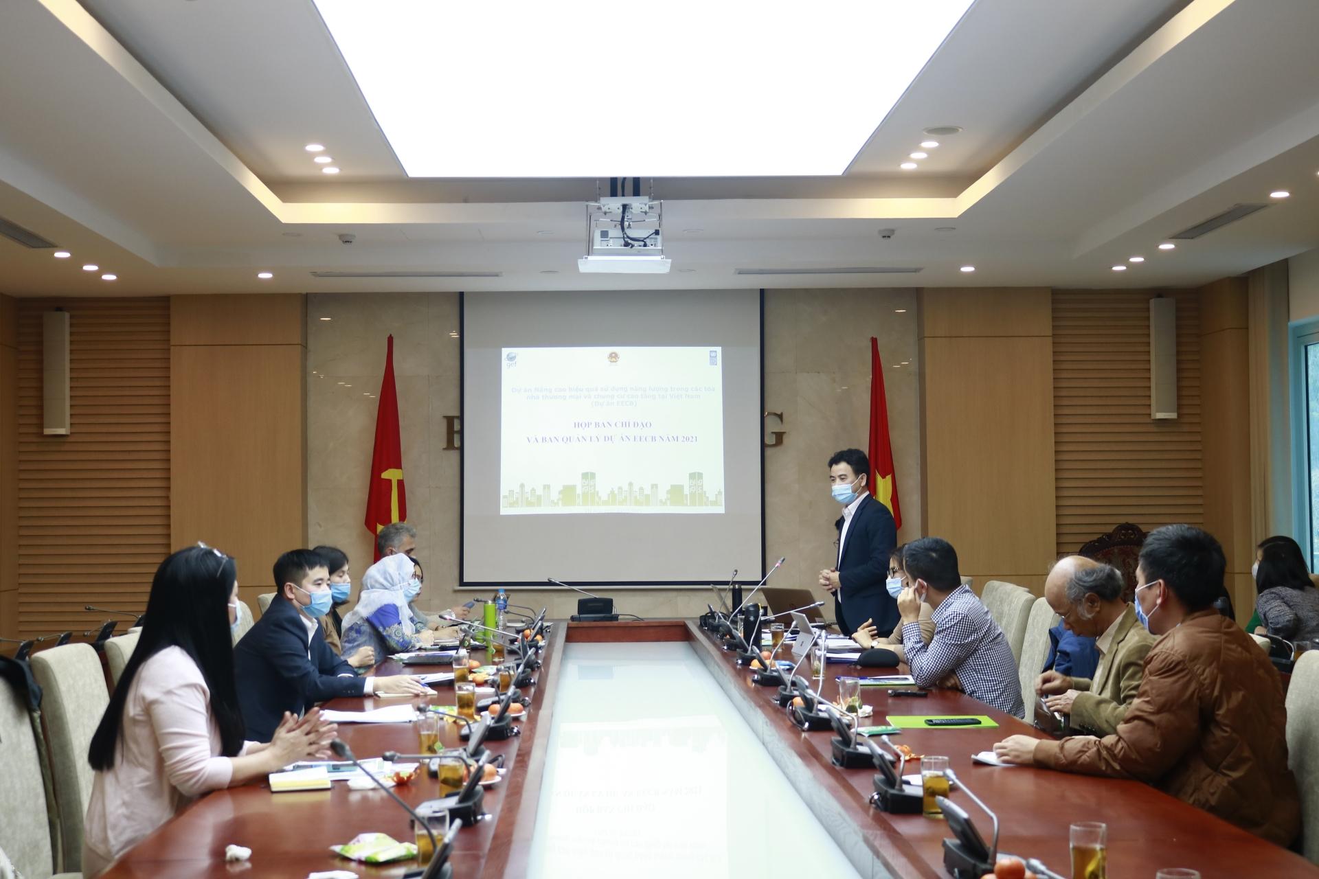 Dự án Nâng cao hiệu quả sử dụng năng lượng trong các tòa nhà thương mại và chung cư cao tầng tại Việt Nam hoàn thành khối lượng công việc lớn