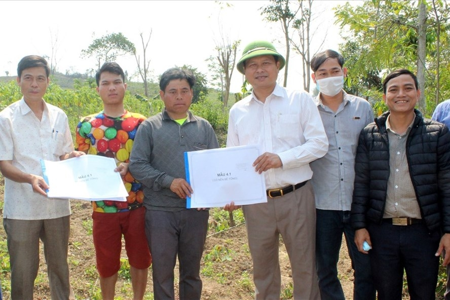 Người dân ở Quảng Trị được hỗ trợ xây dựng nhà phòng chống thiên tai