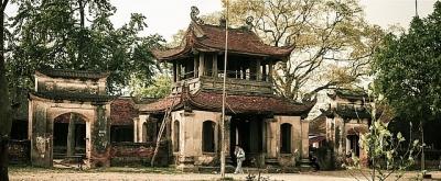 Di tích quốc gia chùa Đậu trùng tu