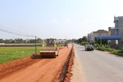 Vĩnh Phúc: Đẩy nhanh tiến độ giải phóng mặt bằng các dự án sử dụng đất trồng lúa