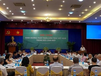 Phát triển nền kiến trúc Việt Nam hiện đại, đậm đà bản sắc dân tộc để xây dựng đất nước bền vững