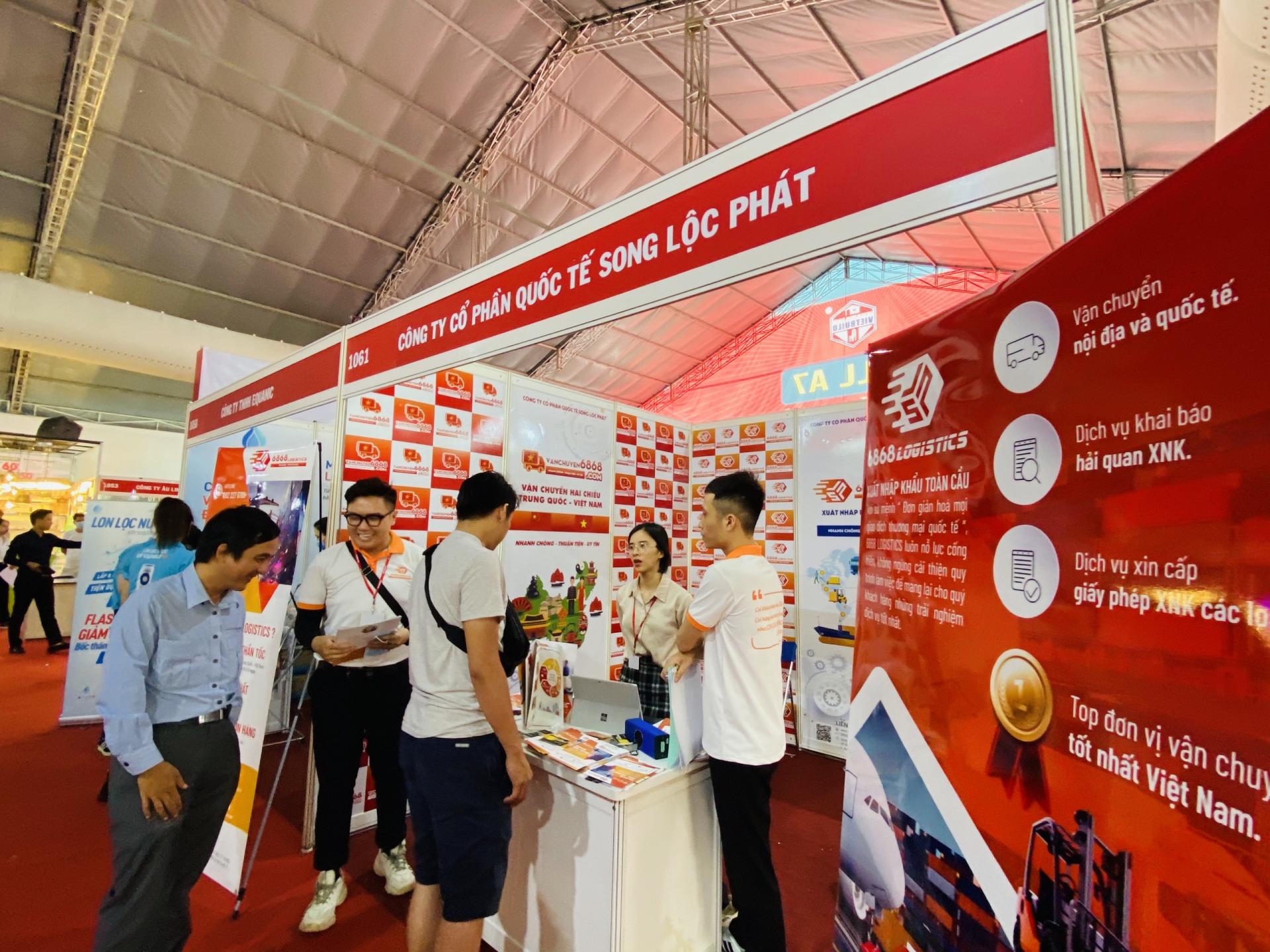 6868 Logistics tham gia triển lãm quốc tế Vietbuild Thành phố Hồ Chí Minh