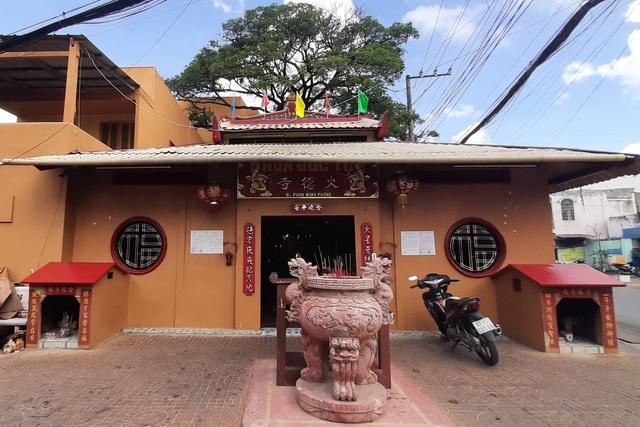 Độc nhất vô nhị ngôi chùa thờ
