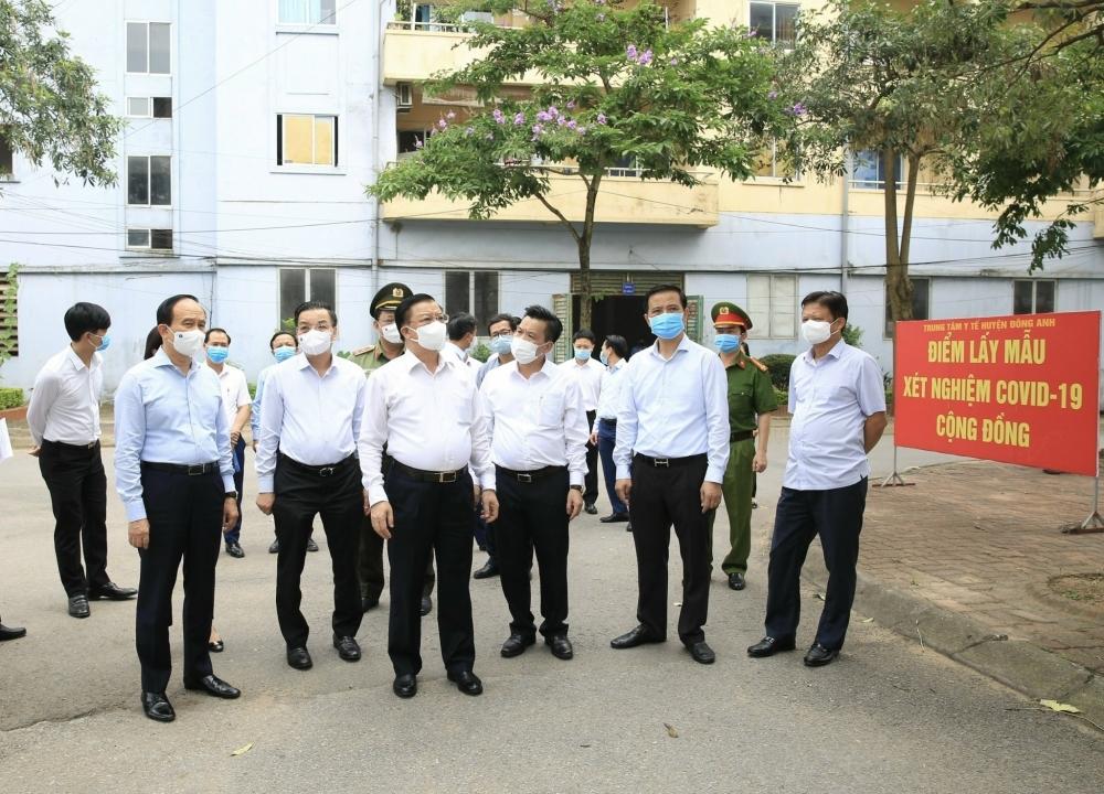 Thủ tướng Chính phủ khen tặng huyện Đông Anh, Thành phố Hà Nội có thành tích phòng, chống Covid-19