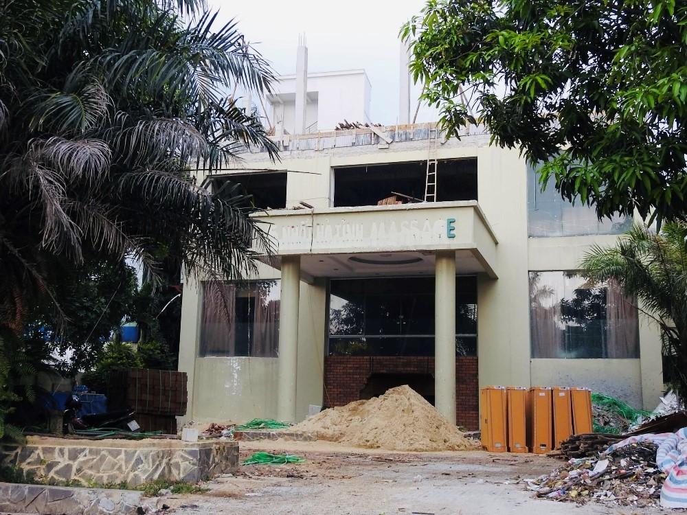 Hà Tĩnh: Công trình không phép ngang nhiên xây dựng giữa trung tâm thành phố