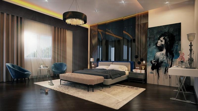 Những kiểu phòng ngủ master ấn tượng