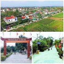 Huyện Đức Thọ (Hà Tĩnh) đạt chuẩn nông thôn mới