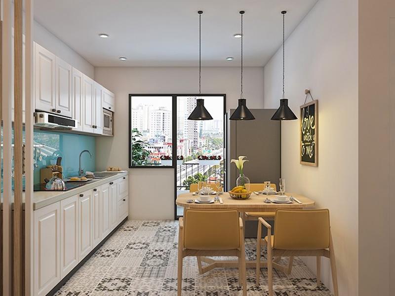 Những lưu ý khi thiết kế nội thất bếp chung cư nhỏ