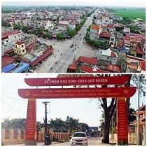 Công nhận 2 huyện đạt chuẩn nông thôn mới