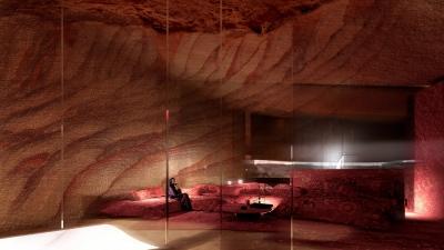 Resort chạm khắc tinh xảo ẩn mình giữa lòng sa mạc