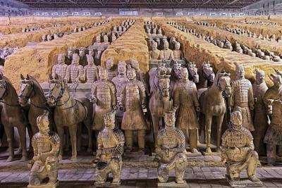 Những bí mật về đội quân đất nung trong lăng mộ Tần Thủy Hoàng