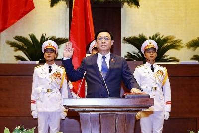 Chủ tịch Quốc hội Vương Đình Huệ: Nỗ lực hoàn thành tốt nhiệm vụ Đảng, Nhà nước và nhân dân giao phó