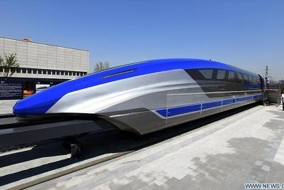 Trung Quốc ra mắt tàu đệm từ nhanh nhất thế giới