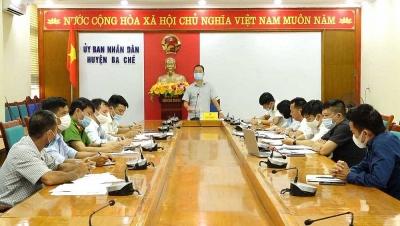 Ba Chẽ (Quảng Ninh): Yêu cầu chủ rừng hoàn thổ sau khi tự ý phá rừng mở xưởng băm gỗ trái phép