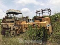 Cận cảnh công trường bỏ hoang tại đại dự án nghìn tỷ