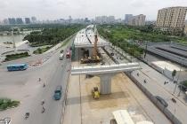 Đề nghị bàn giao cầu cạn đoạn Mai Dịch – Nam Thăng Long về Hà Nội