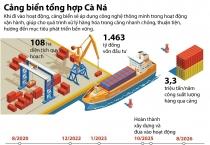 1.463 tỷ đồng xây dựng Cảng biển tổng hợp Cà Ná