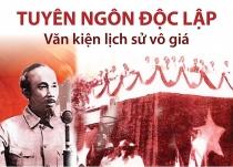 Tuyên ngôn độc lập - Văn kiện lịch sử vô giá