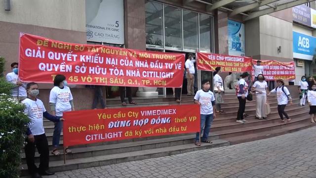 Tòa nhà Citilight: Công ty VIMEDIMEX bị tố chiếm đoạt tài sản