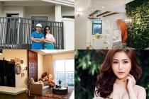 Khám phá căn hộ cao cấp và biệt thự của Hương Tràm