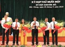 Hai Bí thư Huyện ủy được bổ nhiệm làm Phó Chủ tịch UBND tỉnh Bắc Giang